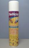 DELICIA - аэрозоль (универсальный) от летающих и ползающих насекомых.